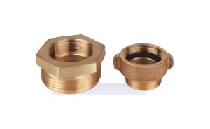 Rigid Female to Male Brass Adapter