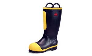"Style 9451 15"" Rubber Firefighter Boot"