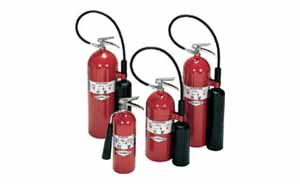 CO2 Carbon Dioxide Extinguishers