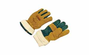 GL-7500 GOLD NFPA LEATHER GLOVE LARGE